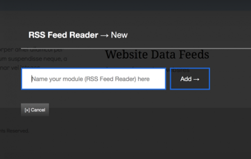Display RSS Feeds
